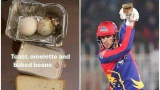 Alex Hales Posts Picture of Poor Quality of Food Served to Him After Pakistan Super League Gets Postponed Due to Rise in COVID Cases