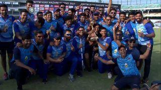 Shaw, Tare Star as Mumbai Beat UP to Win Vijay Hazare Trophy 2021
