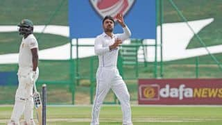 Afghanistan vs zimbabwe 2nd test afghanistan won by 6 wickets level series 1 1 4490928