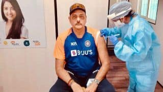 Ravi Shastri Receives First Dose of COVID-19 Vaccine Before 4th Test in Ahmedabad