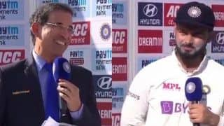 Rishabh Pant's Reply to Harsha Bhogle on Commentary Wins Huge Applause at Motera | WATCH VIDEO