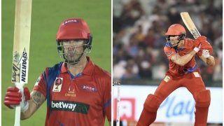 Road Safety World Series: Kevin Pietersen Overshadows Irfan Pathan's Quickfire Fifty as England Legends Beat Sachin Tendulkar-Led India Legends by 6 Runs