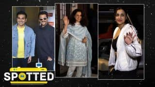 B-Town Celebrities' Work Mode On| Spotted on March 8- Kangana Ranaut, Anil Kapoor & More