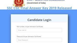 SSC CGL Final Answer Key 2019 Released: SSC ने जारी किया CGL 2019 का फाइनल Answer Key, ये है डाउनलोड करने का Direct Link
