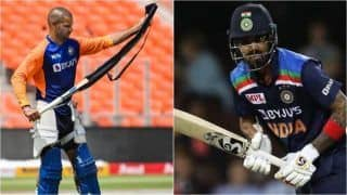 IND vs ENG: Shikhar Dhawan Likely to Replace KL Rahul in Team India Playing XI For 5th T20I vs England in Ahmedabad