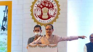 MP CM Shivraj Singh Chouhan Recreates The Viral 'Pawri Ho Rahi Hai' Meme to Warn Land Mafia | Watch