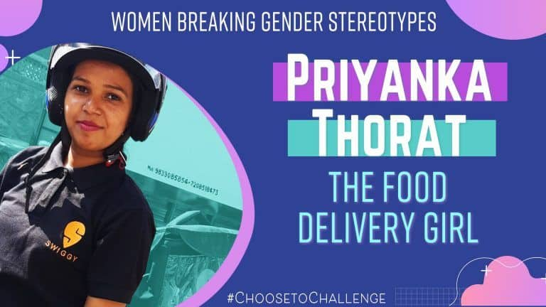 Women's Day 2021: How Priyanka Thorat is Breaking Gender Stereotypes, The Food Delivery Girl