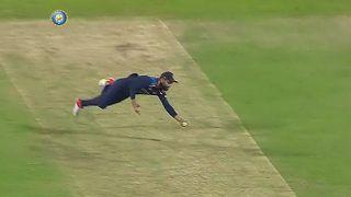 WATCH | Superman Kohli Takes a One-Handed Stunner to Send Rashid Packing