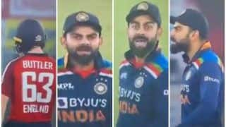 WATCH | Kohli Loses COOL, Gives Buttler Fiery Send-Off During Decider
