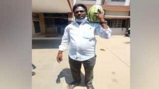 Tamil Nadu Man Carries Watermelon to File Nomination from Thanjavur Constituency for Upcoming Polls