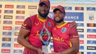 Wi vs sl 3rd odi match report and highlights west indies beat sri lanka in 3rd odi and clinch series by 3 0 4492502