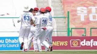 Zimbabwe ने टेके घुटने, Afghanistan ने किया फॉलोऑन खेलने को मजबूर