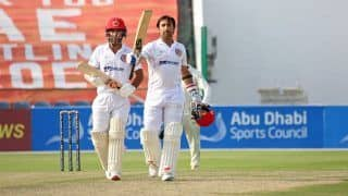 Afghanistan vs zimbabwe 2nd test afghanistan highest total in test inning 4484391