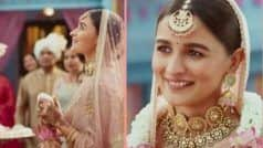 Alia Bhatt Bridal Look: पिंक लहंगे और भारी गहनों में अप्सरा लग रही हैं Alia, Ranbir नहीं इनकी बनी दुल्हनिया