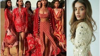Lakme Fashion Week 2021: Arpita Mehta's Show Was All About Gorgeous Prints, Mirror Work And Vibrant Colours