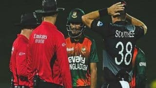 New zealand vs bangladesh 2nd t20i bangladesh batted for 1 3 overs without knowing the final target 4545579