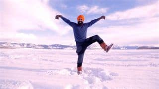 Canadian Man's Bhangra Dance After Getting COVID-19 Vaccine Goes Viral. WATCH VIDEO