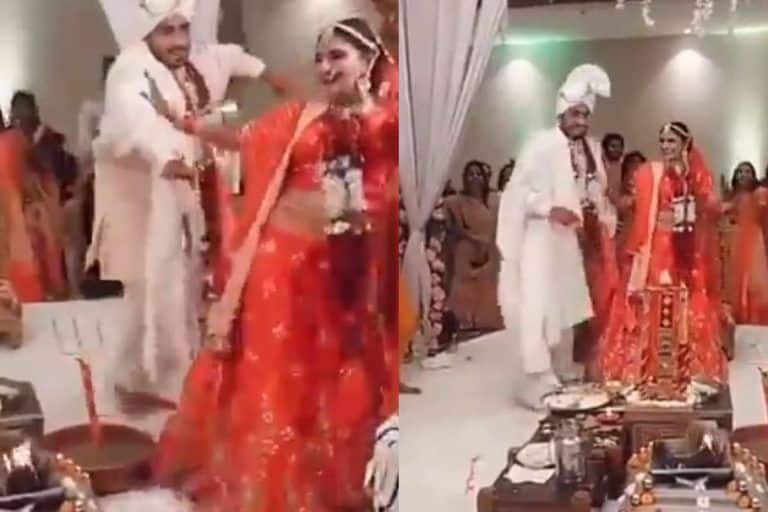 Video of Bride and Groom Dancing During Saath Pheras Goes Viral, Netizens React Angrily for 'Disrespecting Culture'