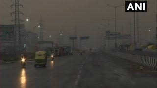 Weather Alert: Delhi-NCR Receives Rains, Skies Turn Dark | See Photos