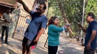 Mumbai Man Threatens Woman for Feeding Stray Dogs, Says 'I'll Slap You'   Watch Viral Video