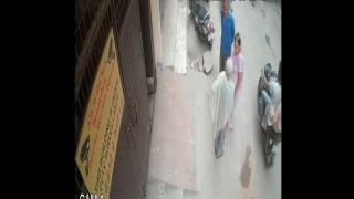 Caught on Camera: Elderly Woman Dies on Spot After Son Slaps Her Over Argument