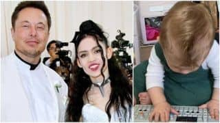 Elon Musk And Grimes's Son X Æ A-XII Plays Keyboard On Mommy's Birthday   Watch Adorable Video