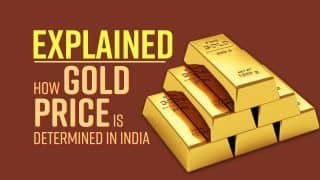 How Gold Price is determined in India : Explained Video