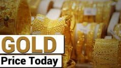 Gold Rates Dip by Rs 1,800 Over a Week. Check Price in Delhi, Mumbai, And Other Cities