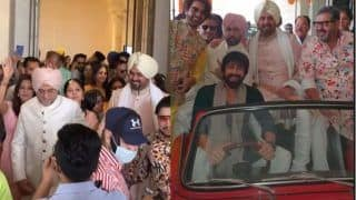 Harman Baweja's Wedding Baraat: Raj Kundra, Ashish Chowdhry, Aamir Ali Dance Their Hearts Out on Dhol – Watch Videos