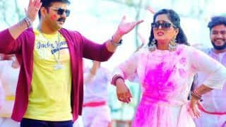 Bhojpuri Holi Song 'Ghasai Rang Sagari' Out: Pawan Singh, Anjana Singh Impress Audience With Their Chemistry
