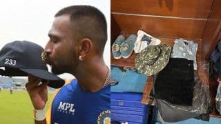 Krunal Pandya Kept Late Father's Clothes With Him in Dressing Room on ODI Debut | See Pictures