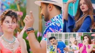 Rubina Dilaik-Abhinav Shukla Look Their Quirkiest Best in Neha Kakkar's Song Marjaneya - Watch
