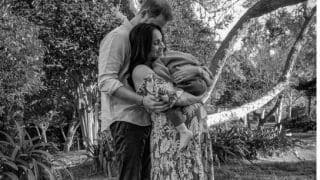 Meghan Markle, Prince Harry Share Adorable Photo With Archie; Don't Miss The Baby Bump