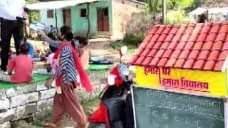 MP School Teacher Sets up Mini-library on his Scooter to Teach Rural Children from Different Villages