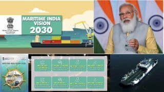 India to Begin 23 Waterways by 2030: PM Modi During Maritime India Summit 2021