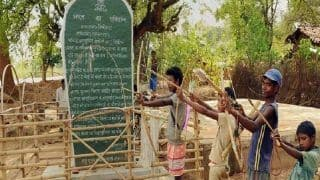 Pathalgadi Movement: Tribals in Ranchi Install Stone Plaque on Land Given to Sri Sri Ravi Shankar