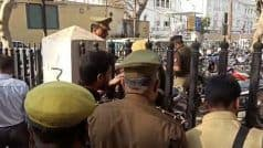 लखनऊ: विधानसभा गेट के पास दरोगा ने खुद को मारी गोली, संदिग्ध परिस्थितियों में ले जाया गया अस्पताल