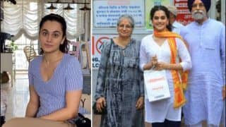 Taapsee Pannu's Parents Reaction On I-T Raid: 'We Ask Each Other Are You Fine?'