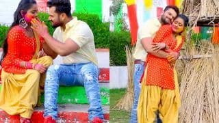Khesari Lal Yadav New Bhojpuri Holi Song 2021: खेसारी और शिल्पी ने जमाया होली का रंग,Sali Salwar Bariyar Penhiya गाने का धूम-VIDEO