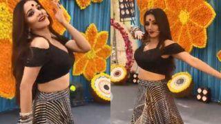 Monalisa Dance Video: आओ हुज़ूर... मोनालिसा की इन अदाओं को सह पाना है मुश्किल! नाचती हैं तो अंबर झूम उठता है