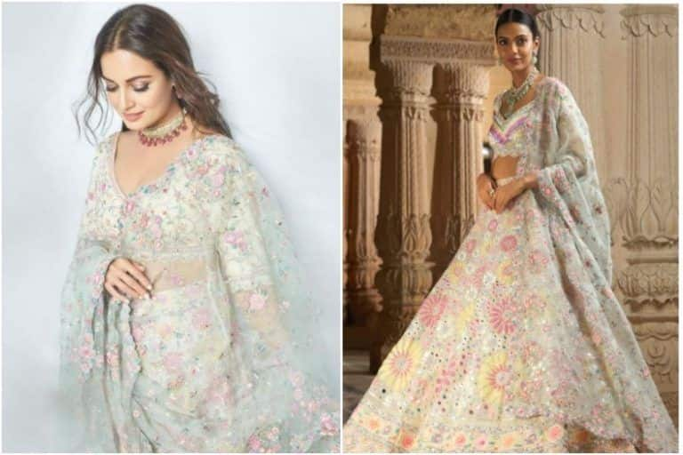 Dia Mirza in Rs 4,68,000 Lehenga Twirls Her Way Into The Hearts of Fans - See Pics