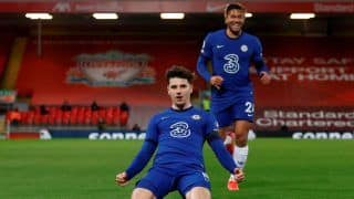 Liverpool vs Chelsea Highlights: The Reds Suffer Fifth Straight Loss at 'Fortress' Anfield as Mason Mount Helps Blues Win 1-0   Watch