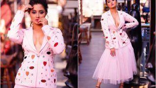 Rashami Desai ने ब्लैक स्लिट ड्रेस में कराया बोल्ड फोटोशूट, फैंस हुए क्लीन बोल्ड...See Viral Pictures