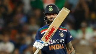 Virat Kohli Becomes the First Player to Score 3000 Runs in T20Is; Overtakes Rohit Sharma in Elite List
