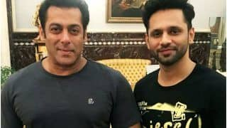 Rahul Vaidya to Sing For Salman Khan in Radhe: Your Most Wanted Bhai? Read on