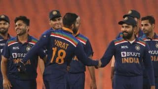 IND vs ENG: Michael Vaughan Takes Cheeky Dig on Captain Virat Kohli After Rohit Sharma Leads India to Win in 4th T20I