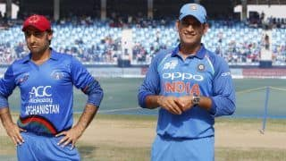 Asghar Afghan Equals MS Dhoni's Tally of Most Wins as T20I Captain