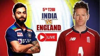 Live Cricket Score India vs England 5th T20I: Virat Kohli And Co. Look to Seal Series Against Inconsistent Visitors