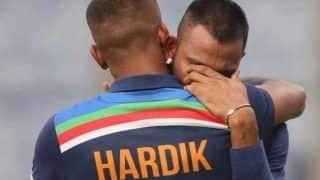 """Hardik Pandya Posts Heartfelt Note For Brother Krunal After Scintillating Debut: """"Papa is Smiling Down on You Bhai"""""""