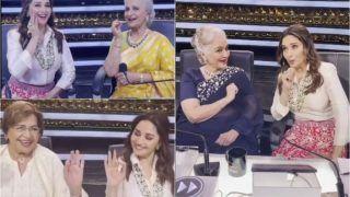 Madhuri Dixit Dancing With Helen, Waheeda Rehman, Asha Parekh on Dance Deewane 3 is The Right Kind of Viral